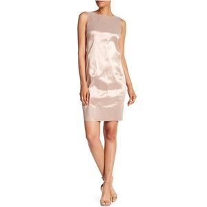 Lafayette 148 New York powder irid Metallic Dress